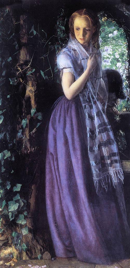 Arthur Hughes - April Love (1856)